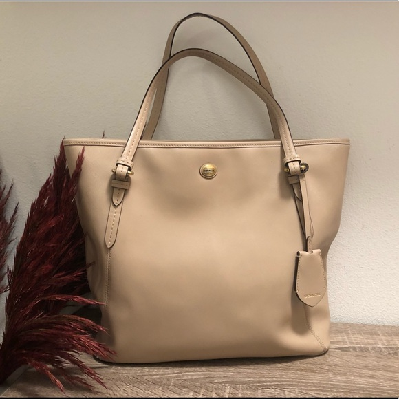 1be31c6a42a Coach Bags   Peyton Saffiano Leather Zip Top Tote Bag   Poshmark
